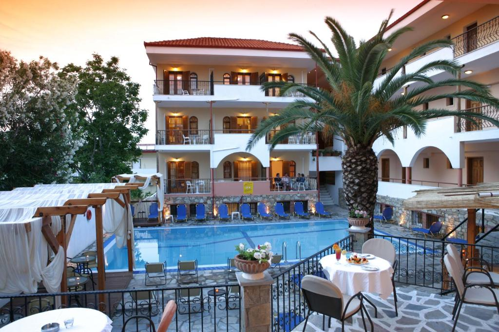The swimming pool at or near Hotel Calypso