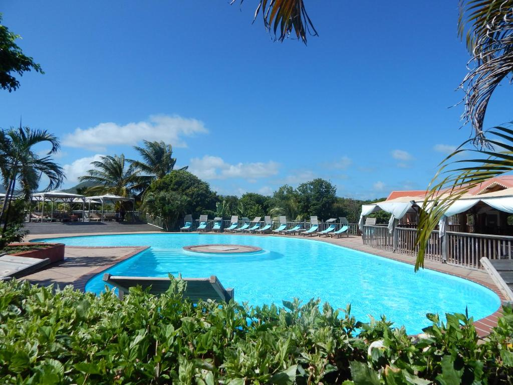 The swimming pool at or near Hôtel Cap Macabou