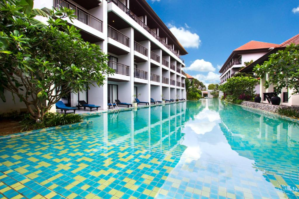 The swimming pool at or close to D Varee Mai Khao Beach
