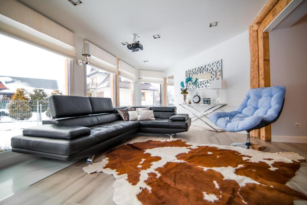 Posezení v ubytování Apartament Tatry One