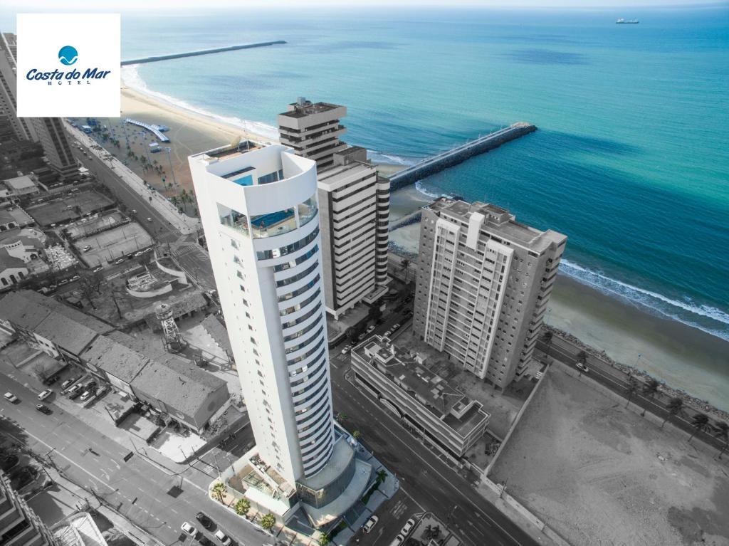 A bird's-eye view of Costa do Mar Hotel