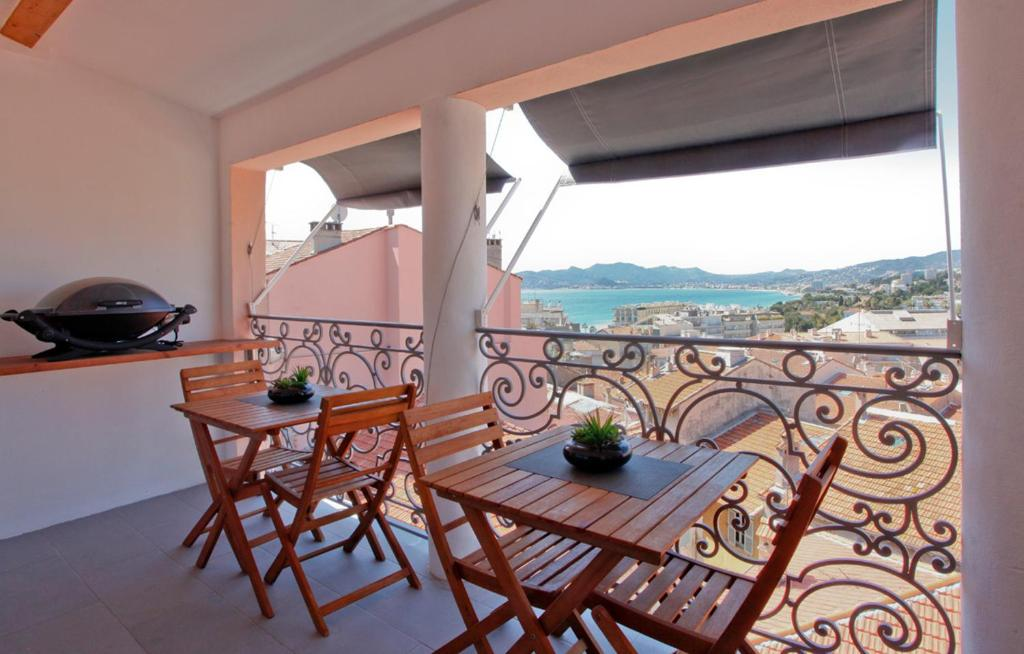 A balcony or terrace at Résidence Le 7ème Art