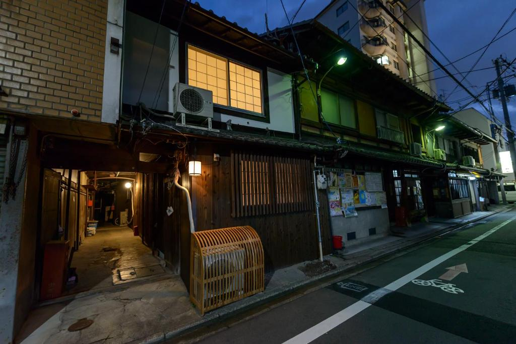 Bâtiment de le ryokan