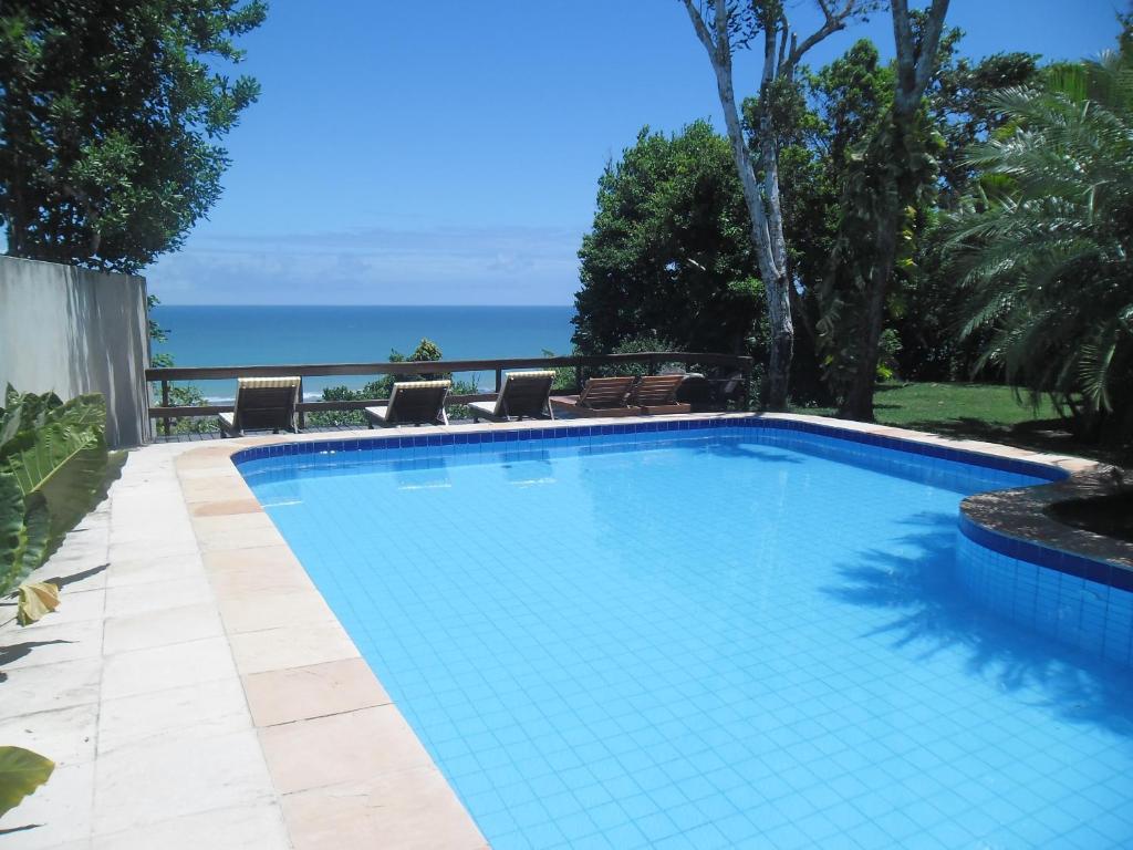 The swimming pool at or near Pousada Antares