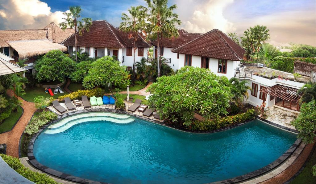 A view of the pool at Ecosfera Hotel, Yoga & Spa or nearby