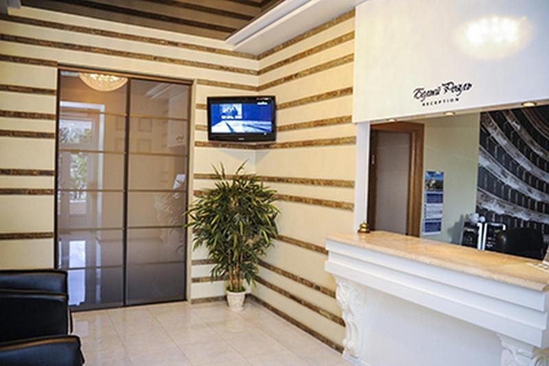 The lobby or reception area at Bilyj Rojal
