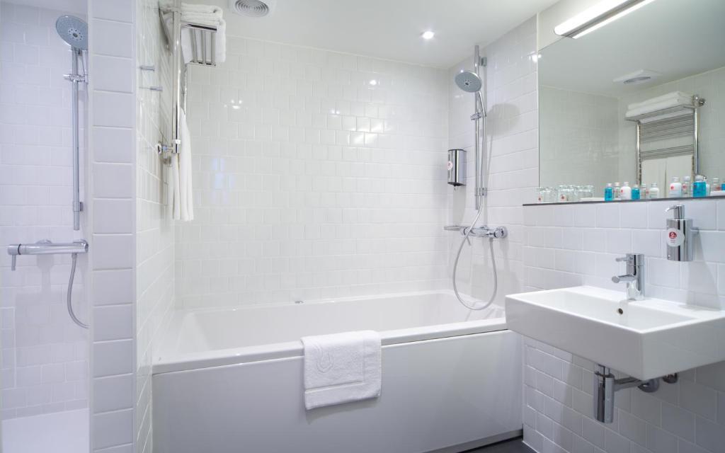 Ванная комната в АЗИМУТ Отель Воронеж