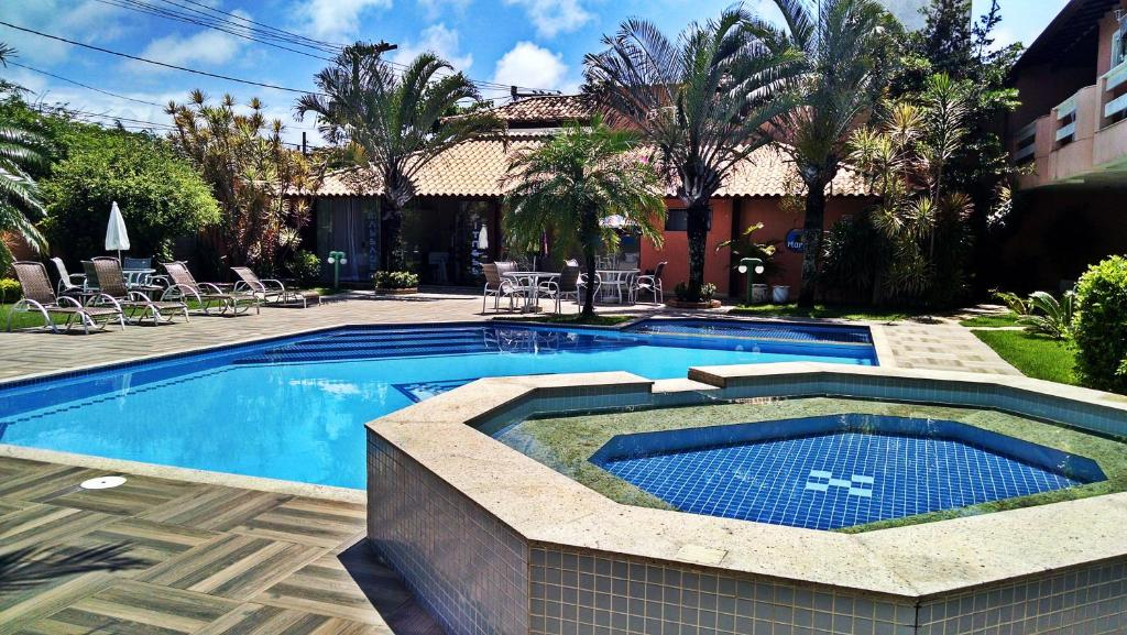 The swimming pool at or near Pousada Marbella