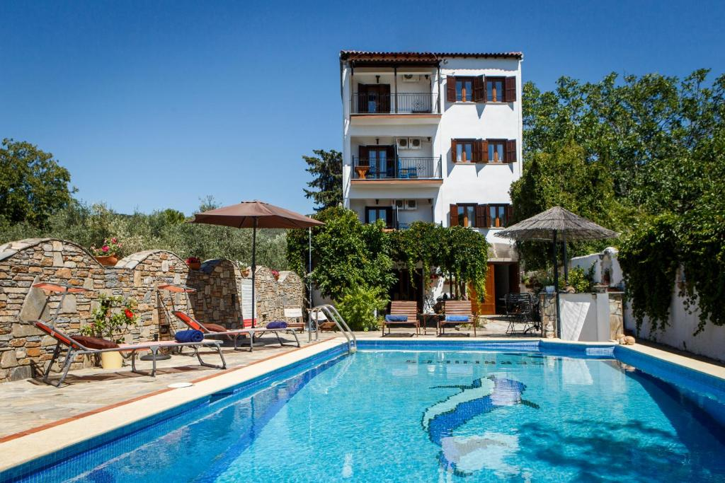 The swimming pool at or near Seranides Boutique Hotel