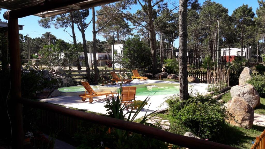 A view of the pool at Il Tano Suites or nearby