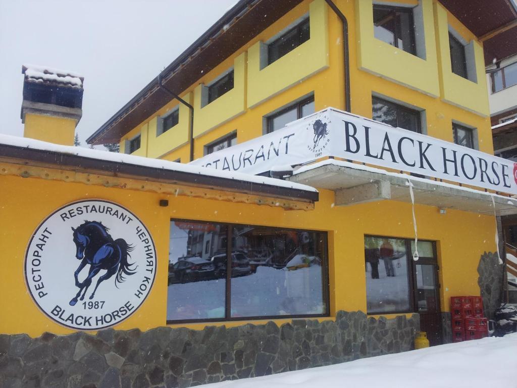 Apartments Black Horse зимой