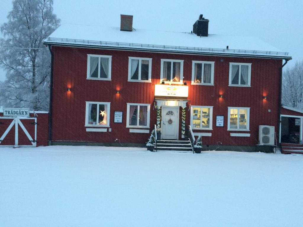 Wasa Fjällgård during the winter