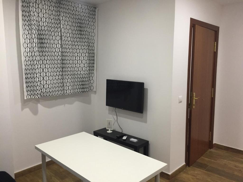 A television and/or entertainment center at Portalegre