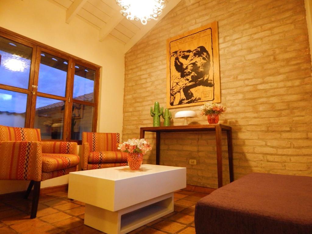 Zona de estar de La Morada Suites