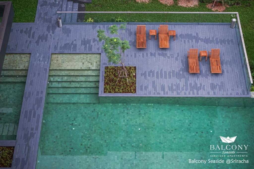 แผนผังของ Balcony Seaside Sriracha Hotel & Serviced Apartments