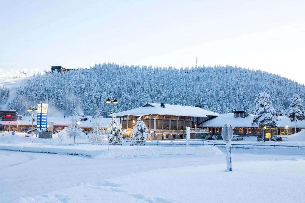 Levi Hotel Spa žiemą