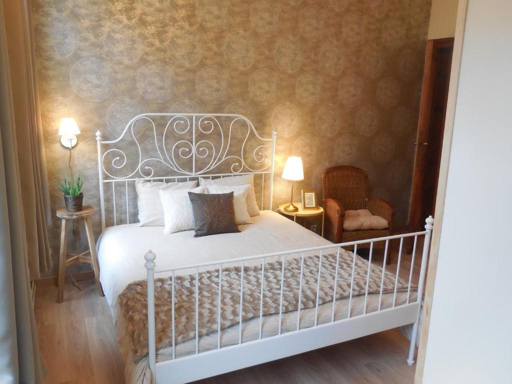 Cama o camas de una habitación en The Room Brussels
