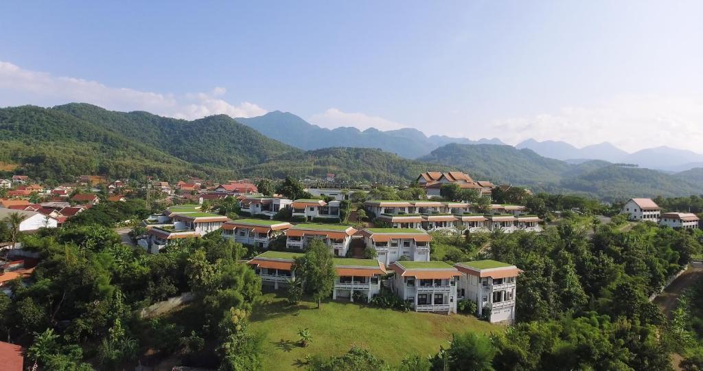 A bird's-eye view of Luangprabang View Hotel