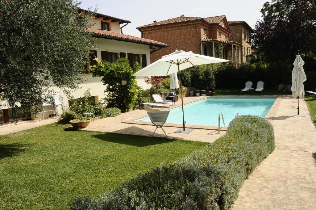 The swimming pool at or near Hotel Rutiliano