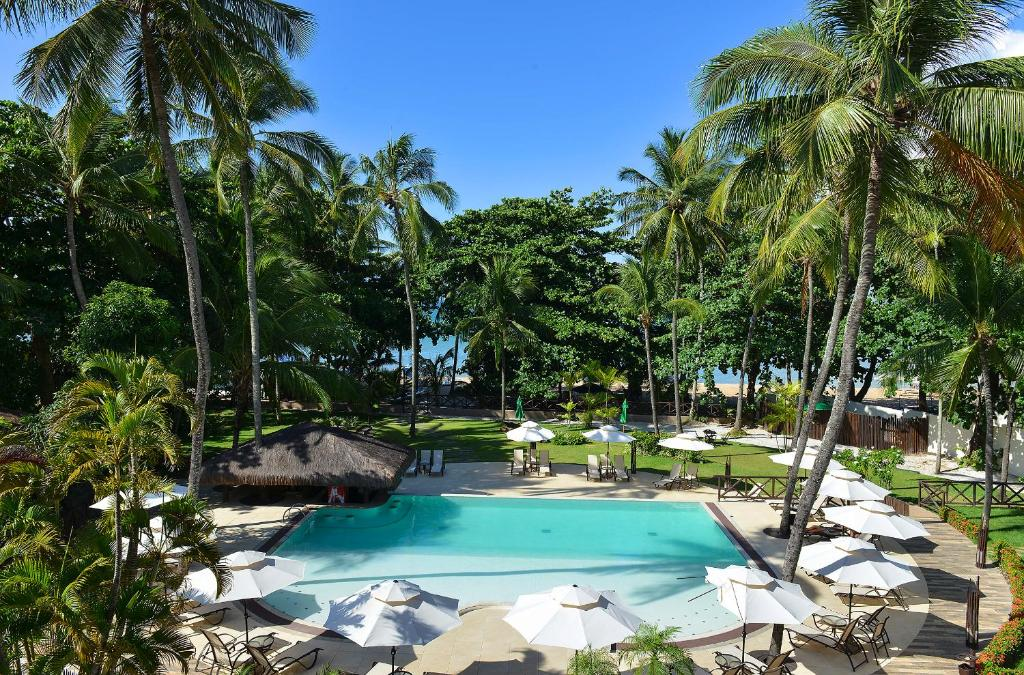 A view of the pool at Iara Beach Hotel Boutique or nearby