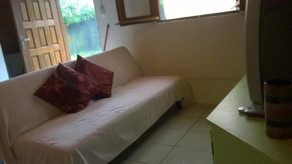 Cama o camas de una habitación en Cabañas Ficus Park