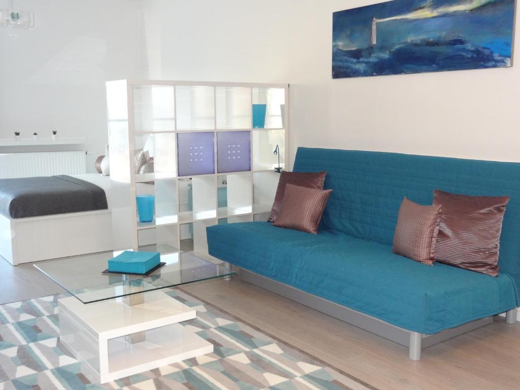 אזור ישיבה ב-Studio Moderno POZ