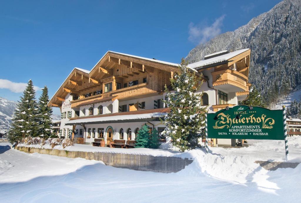 Apparthotel Thalerhof im Winter