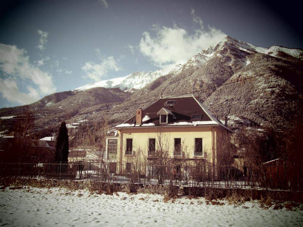 Το Chambre d'Hotes La Mexicaine τον χειμώνα