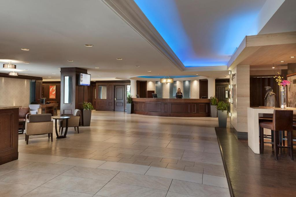 The lobby or reception area at Hotel Halifax