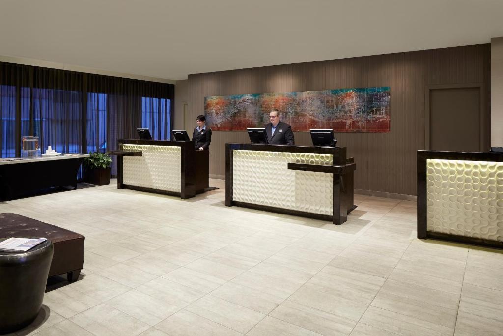The lobby or reception area at The Barrington Hotel