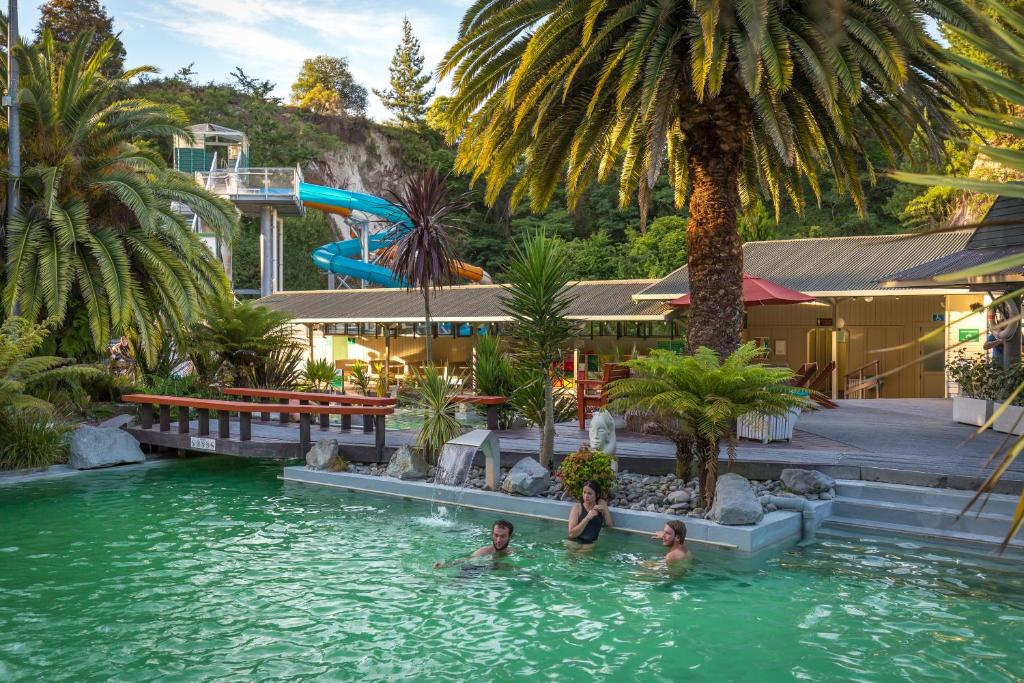 The swimming pool at or near Taupo Debretts Spa Resort