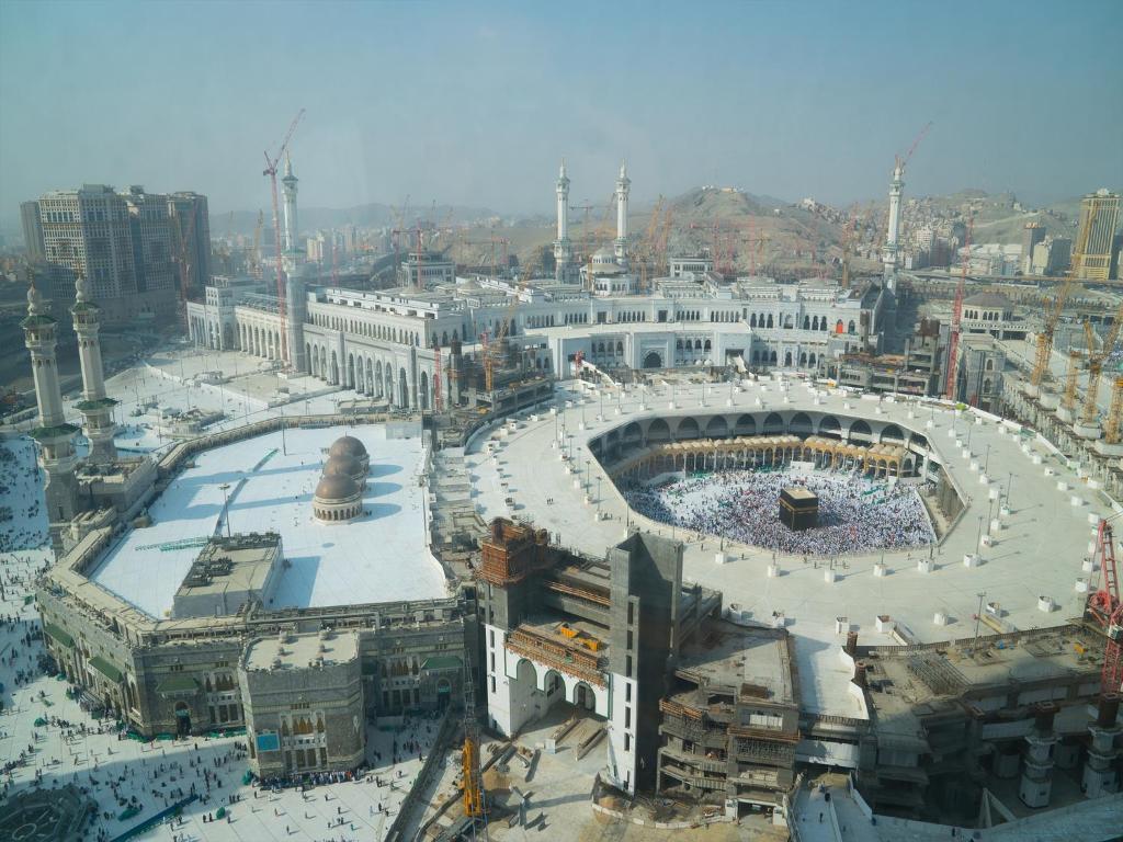 Vue panoramique sur l'établissement Al Safwah Hotel - Tower 1