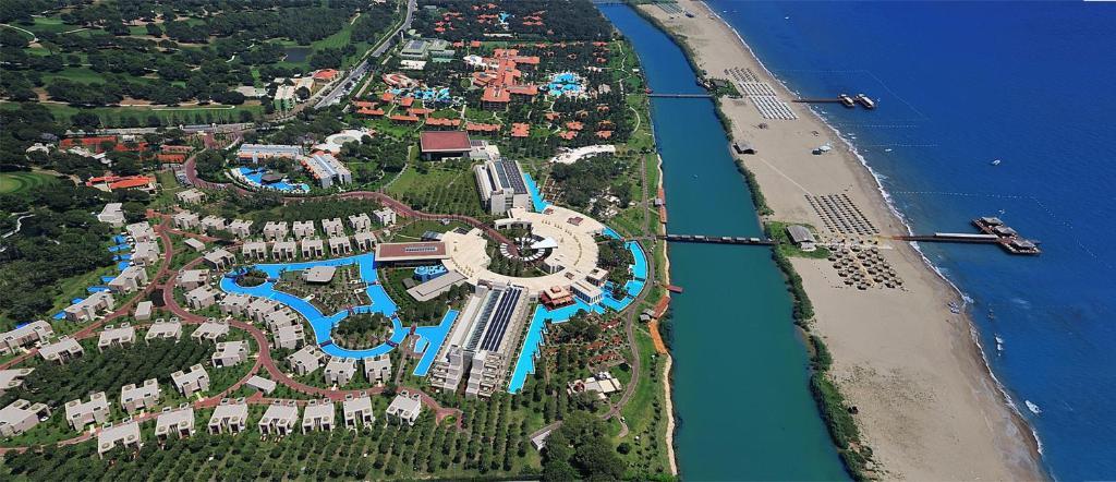 Vaade majutusasutusele Gloria Serenity Resort linnulennult