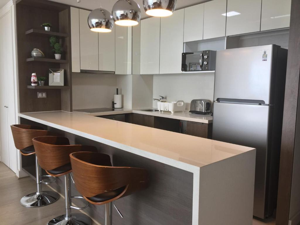 Una cocina o zona de cocina en Apartamento Avenida Kennedy