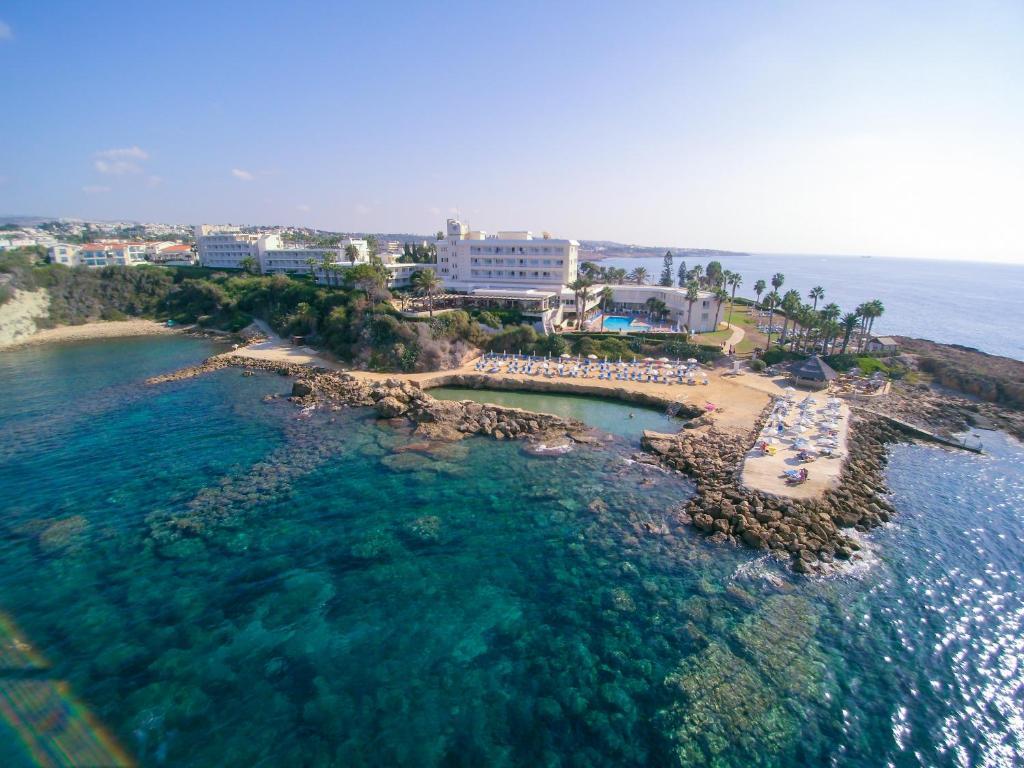 Cynthiana Beach Hotel с высоты птичьего полета