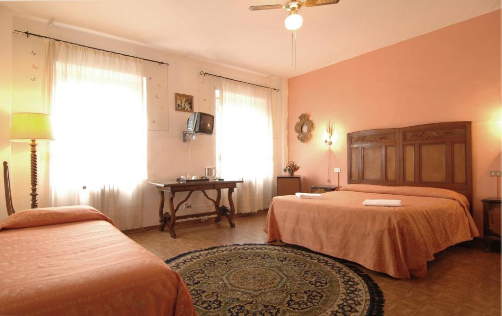 Cama o camas de una habitación en Hotel Dali