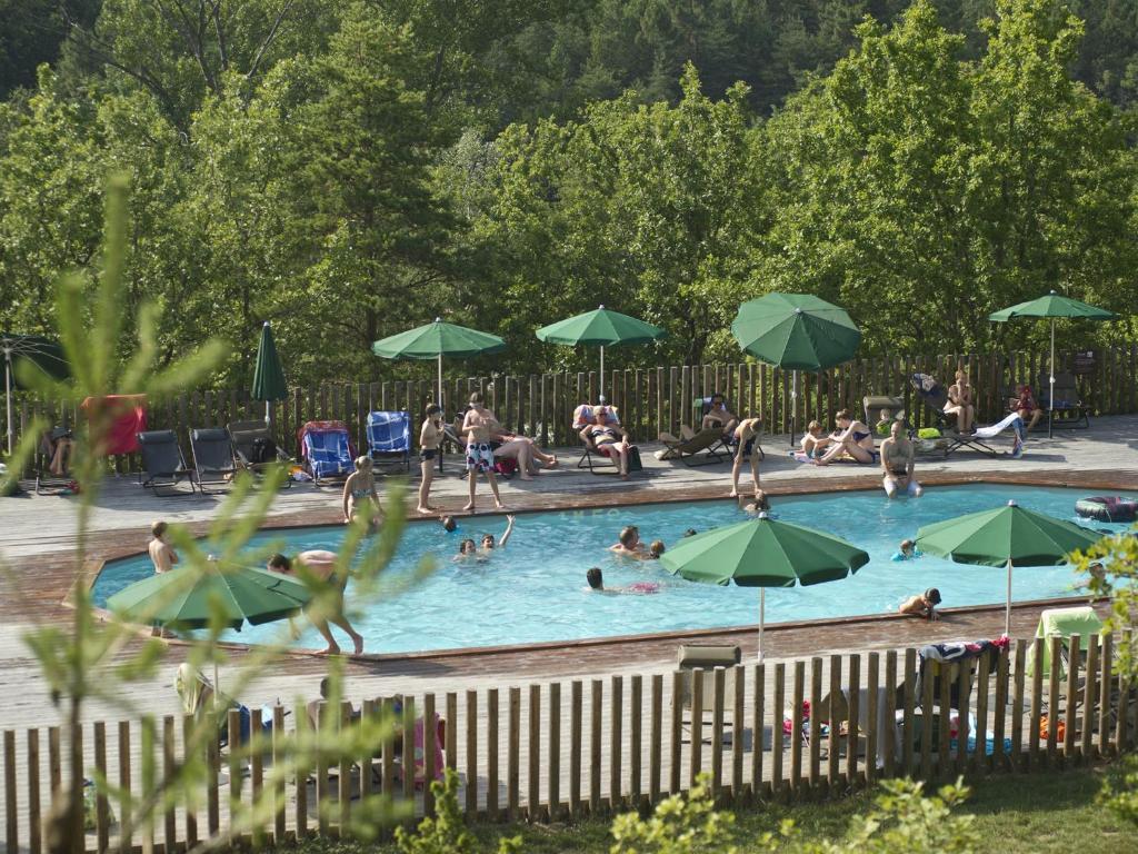 Village Huttopia Sud Ardèche