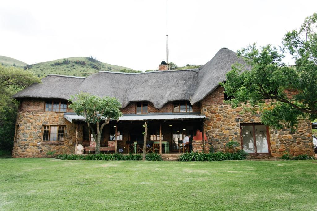 The building where the farm stay is located