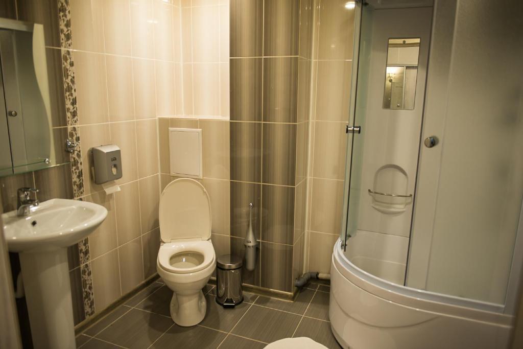 Ванная комната в Гостевой дом Bellagio