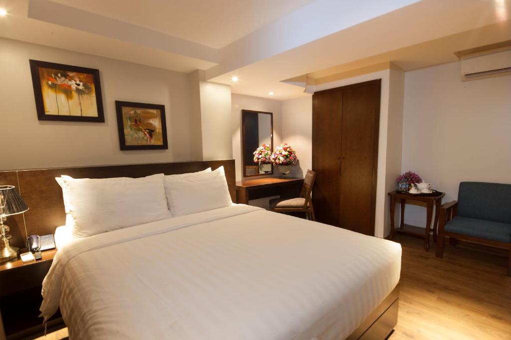 Phòng Luxury Giường Đôi/2 Giường Đơn