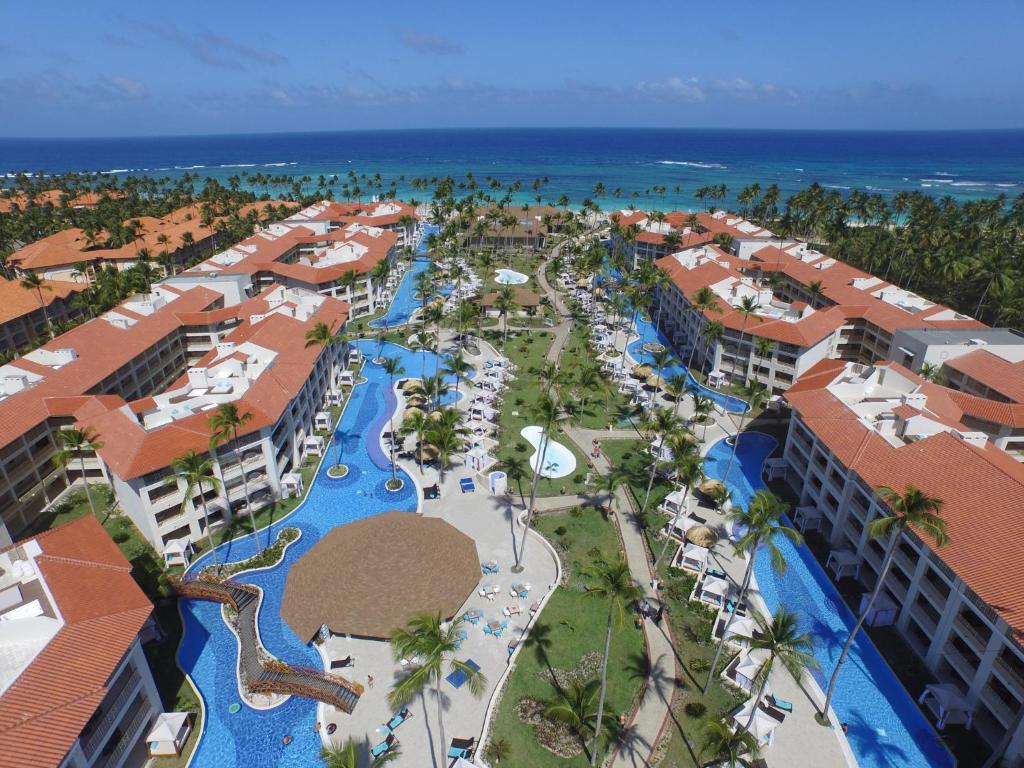 A bird's-eye view of Majestic Mirage Punta Cana, All Suites – All Inclusive