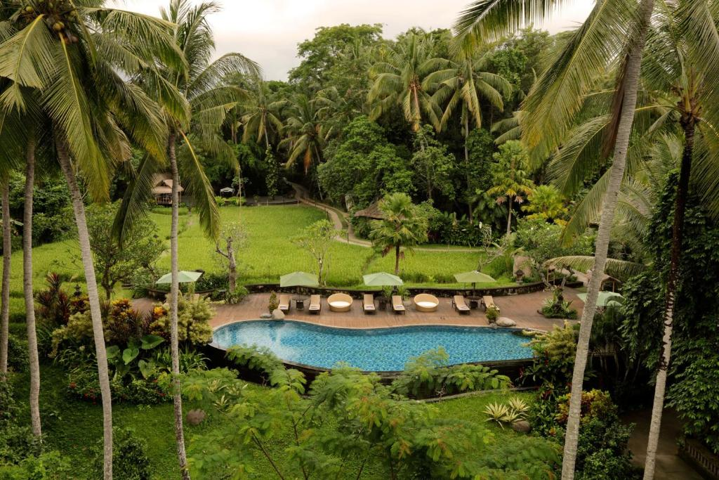 A view of the pool at Plataran Ubud Hotel & Spa or nearby