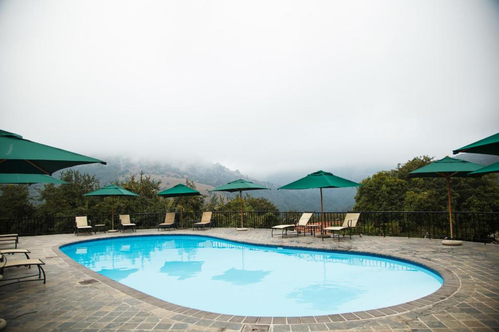 The swimming pool at or close to Mount Sheba Rainforest Hotel & Resort