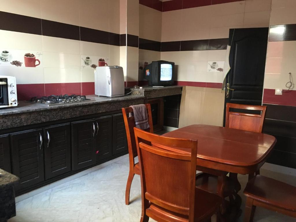 A kitchen or kitchenette at Harhoura