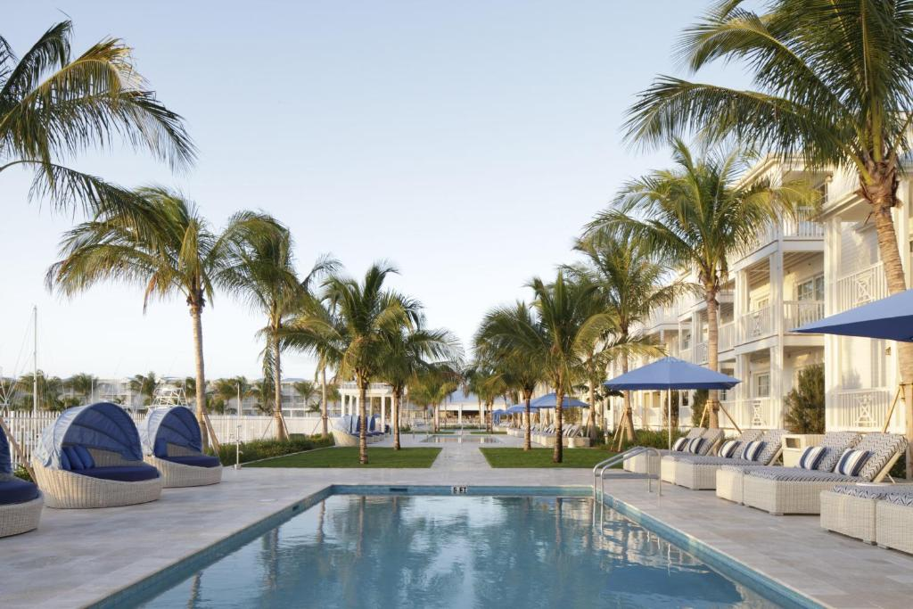 The swimming pool at or near Oceans Edge Key West