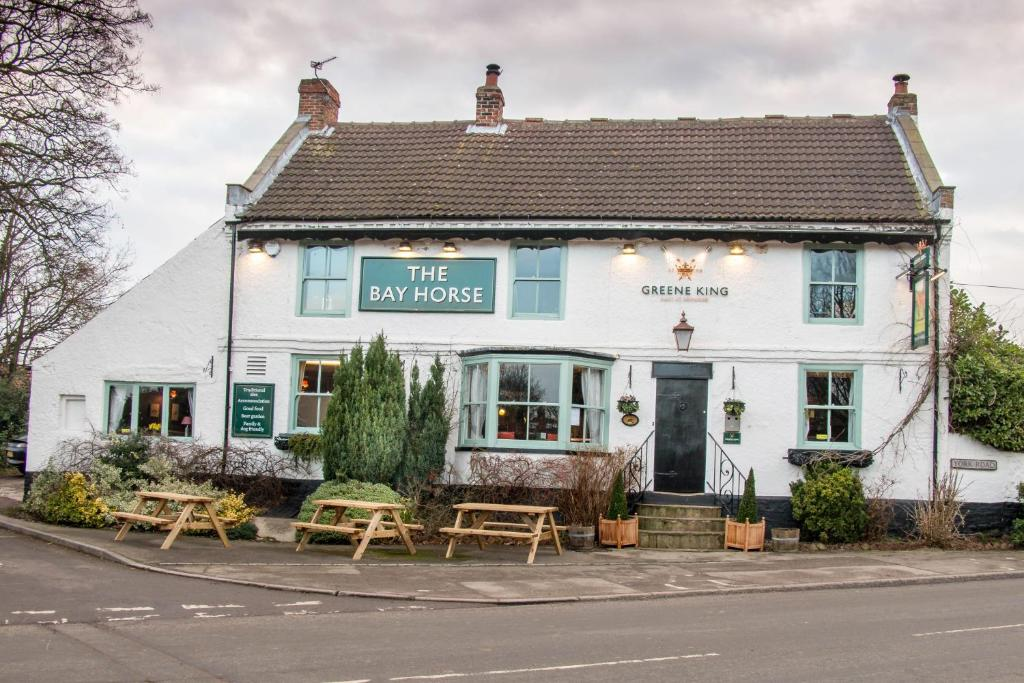 The Bay Horse Inn in Green Hammerton, North Yorkshire, England