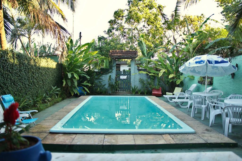 The swimming pool at or close to Ecotrip Hostel