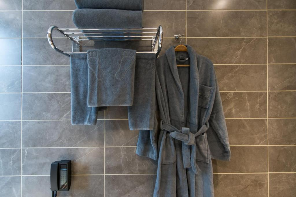 Ванная комната в Adelmar Hotel Istanbul Sisli
