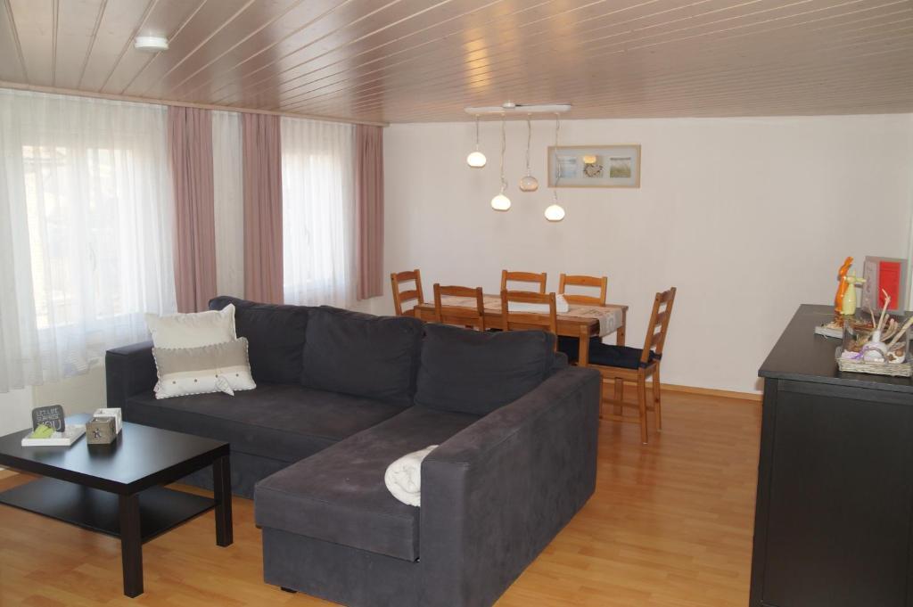 Ein Sitzbereich in der Unterkunft Villa Donkey Ferienwohnung