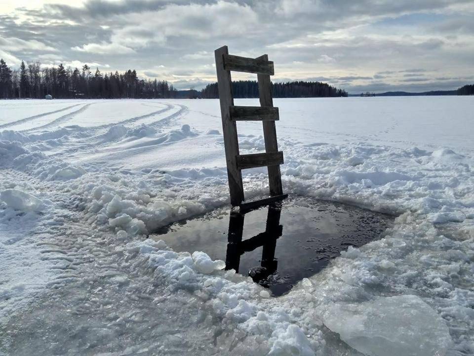 Etolan Mökit talvella